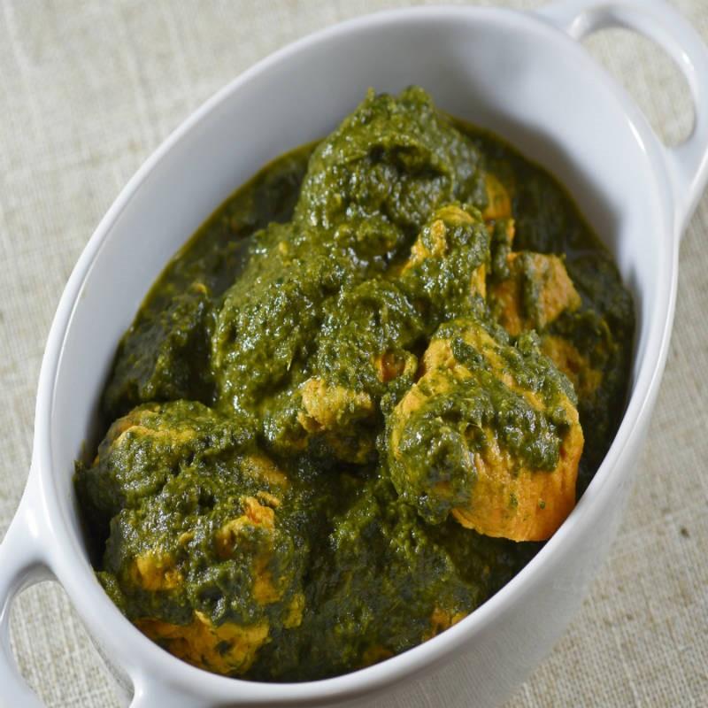 Best Desi food in carlton - Chicken Palak Curry