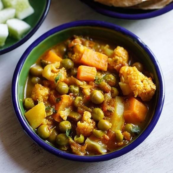 Best Halal restaurant in Melbourne - Carlton - The mix veggie dish
