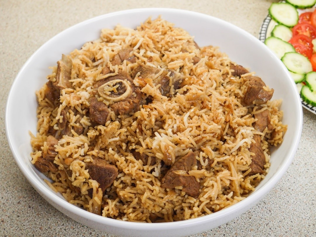Best Halal restaurant in Melbourne - Carlton - The quiet and simple goat pulao